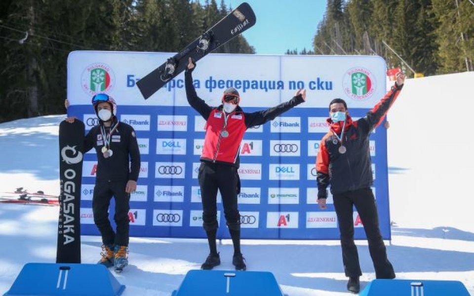 Най-добрият български сноубордист Радослав Янков (Амер спортс) спечели днес 12-ата