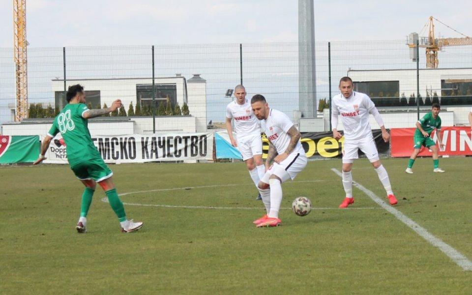 Царско село отново вкара 3 гола на Ботев Враца само