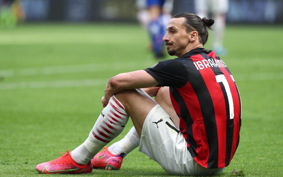 Звездата на Милан Златан Ибрахимович ще обжалва червения си картон,