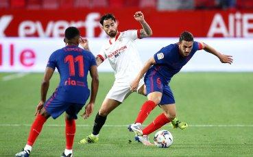 Севиля би Атлетико и завърза още интригата за титлата в Испания