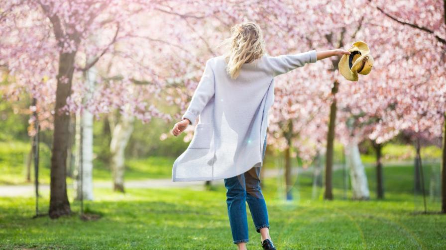 пролет щастие