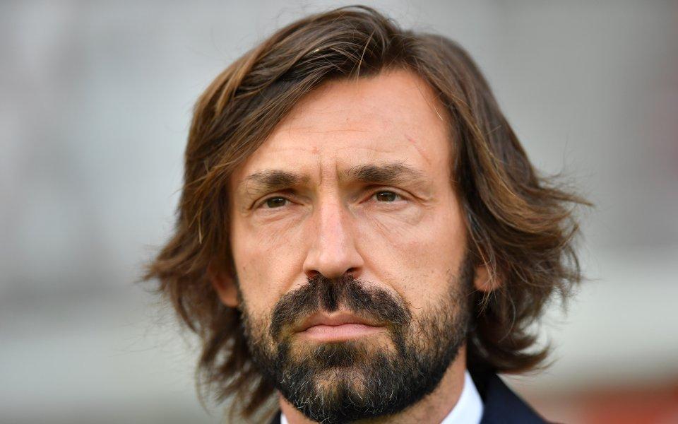 Треньорът на Ювентус Андреа Пирло може да бъде уволнен от