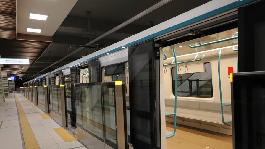 Новите станции на софийското метро: Овча купел 1 и 2, Мизия и Горна Баня