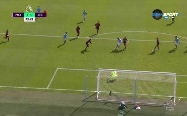 Манчестър Сити изравни срещу Лийдс