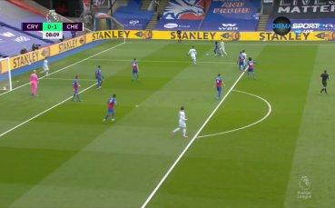 Хавертц изведе Челси напред в резултата срещу Палас