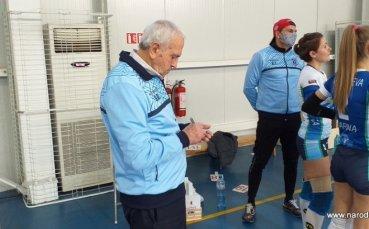 Почина най-дългогодишният треньор по волейбол Ставри Димитров