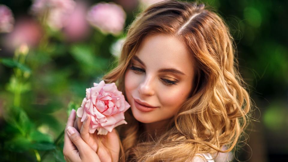 жена пролет дневен