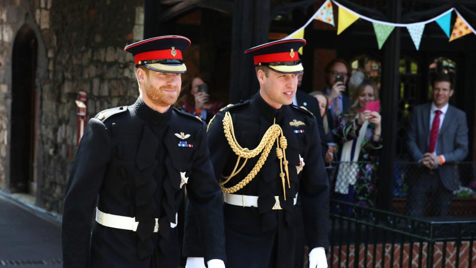 принц Хари принц Уилям