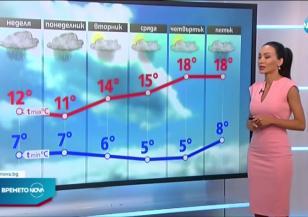 Прогноза за времето (18.04.2021 - обедна емисия)