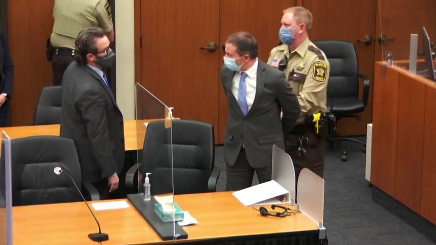 Полицаят, обвинен за убийството на Джордж Флойд, беше признат за виновен