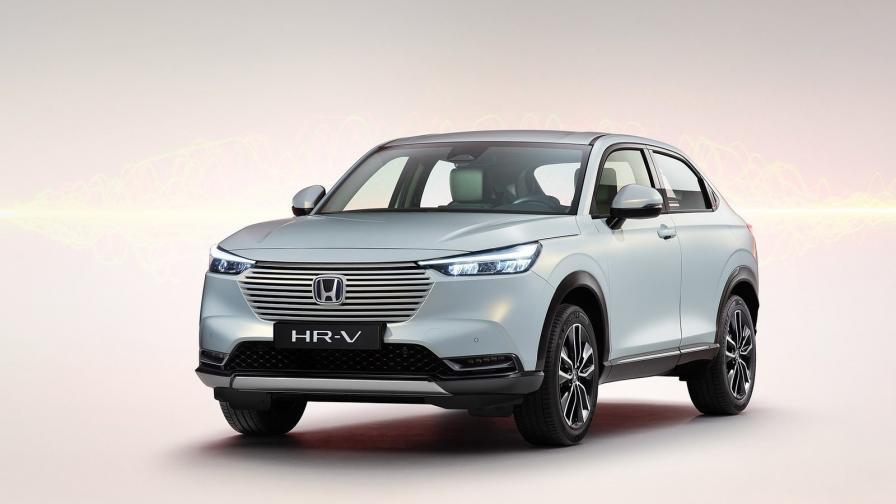 <p>Атрактивен дизайн и хибридна технология за Honda HR-V</p>