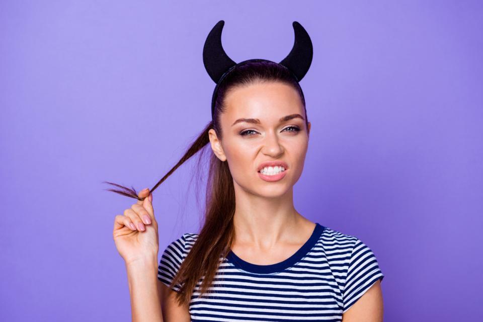 жена дявол