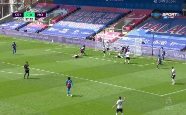 Кристъл Палас - Манчестър Сити 0:0 /първо полувреме/