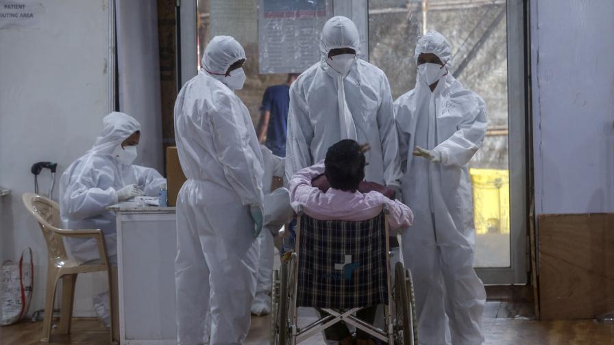 COVID-19 в Индия: Нов рекорд на седмична база, СЗО бие тревога