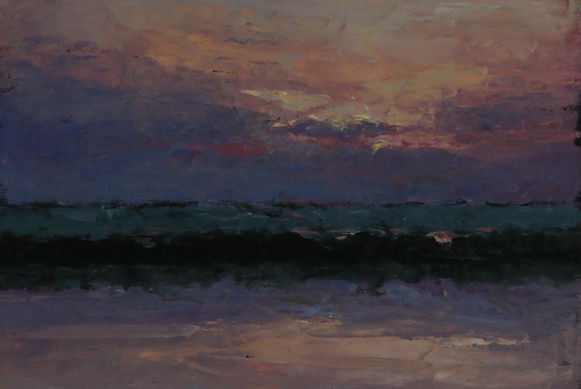 <p>Хоризонт 6, 10</p>  <p>Служейки си с цветовете и живописта, Радослав Нейков разказва истории, пропити с редуващи се емоции, но постоянно усещане за река. Елиза Младенова</p>