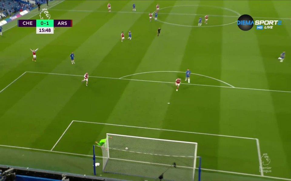 Арсенал спечели с 1:0 срещу Челси като гост в мач