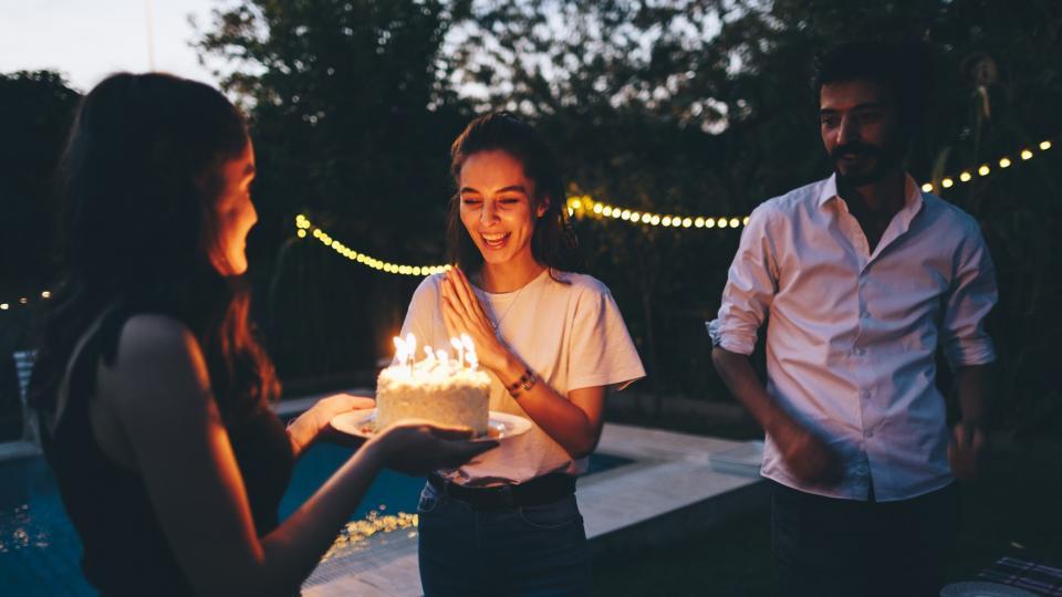 жена рожден ден празник