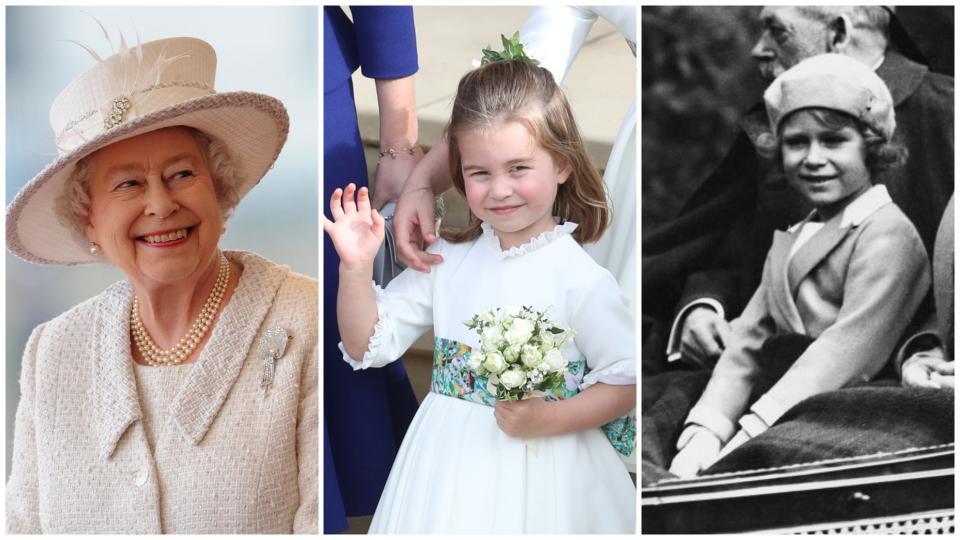 принцеса Шарлот Шарлът кралица Елизабет