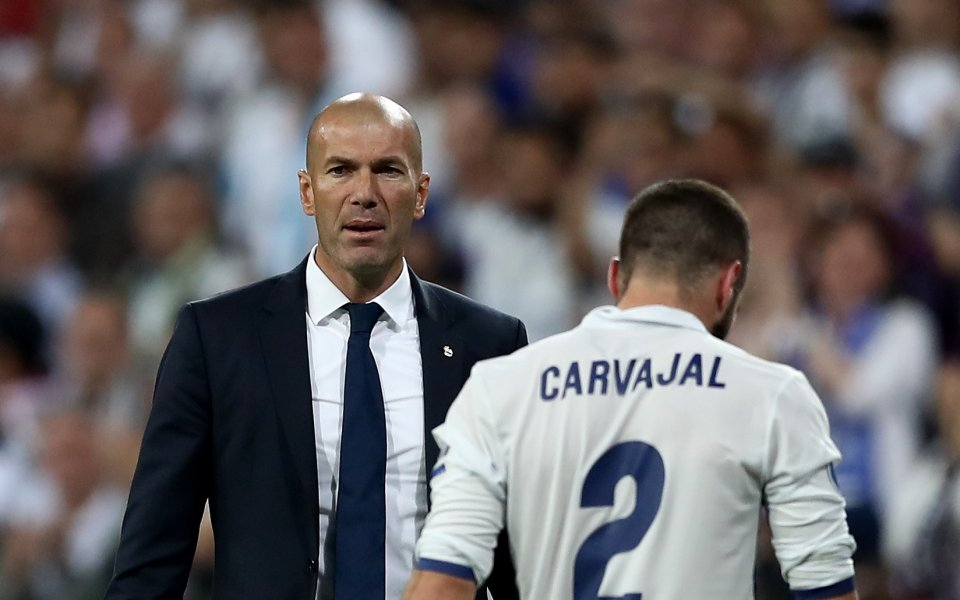 Играчът на Реал Мадрид Дани Карвахал се изказа изключително ласкаво