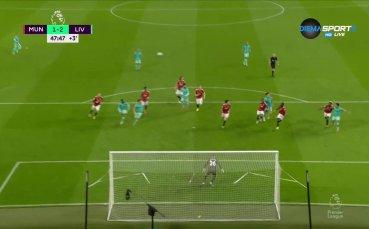 Фирмино съсече Юнайтед в края на полувремето