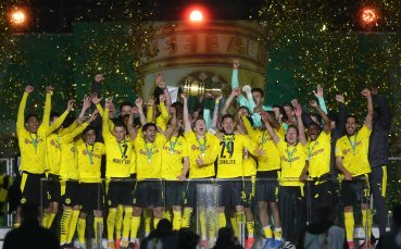 Борусия Дортмунд триумфира с Купата на Германия