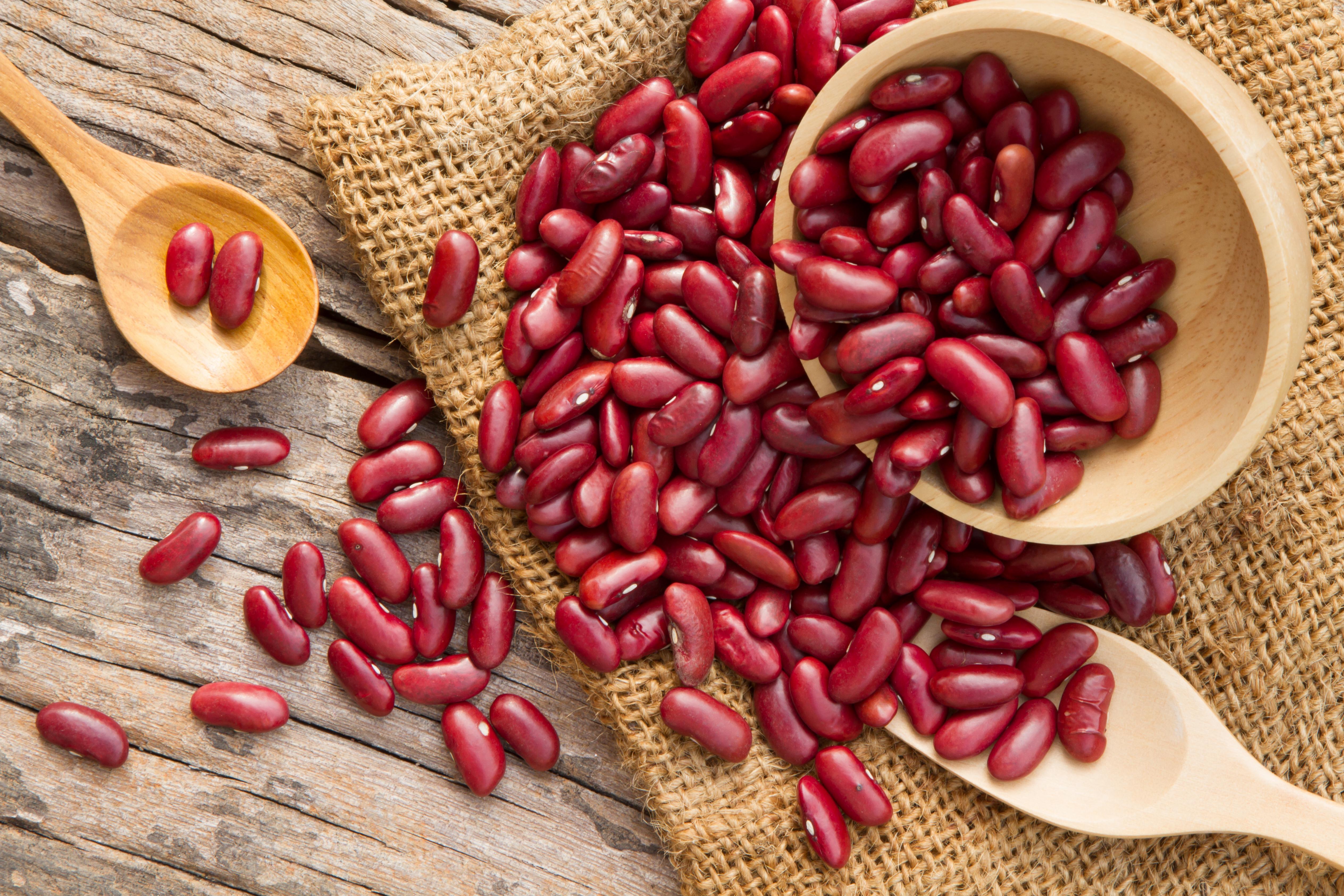 <p><strong>Червен боб</strong></p>  <p>Богат на растителни протеини, фибри, минерали и витамини, червеният боб се превръща в опасна храна, ако бъде консумиран суров или не добре сготвен. Богат е на фитохемаглутинин, токсичен сорт лектин, който може да увреди чревната стена и да причини хранително отравяне, придружено от повръщане, болки с стомаха, диария и главоболие. Сушеният боб се превръща в петкратно по-опасен от суровия, ако бъде приготвен за по-малко от 10 мин. на всяка температура различна от тази на кипене.&nbsp;</p>