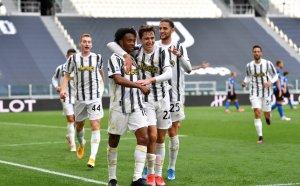 НА ЖИВО: Дерби д'Италия - Ювентус 3:2 Интер, Куадрадо с два гола