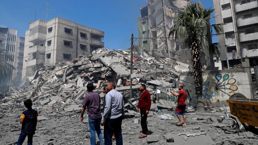 <p>Най-смъртоносният ден в Газа</p>