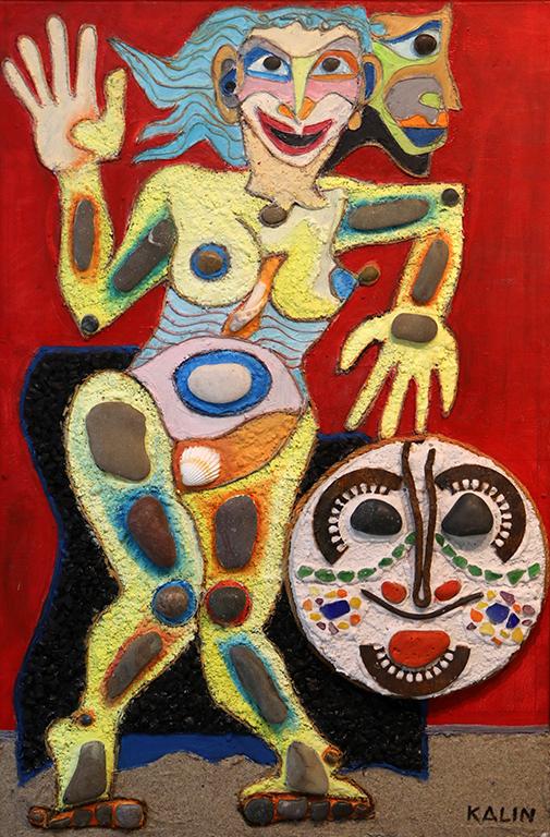 <p>Талия - Муза на комедията</p>  <p>Работи и твори: живопис, колаж, изящна графика, рисунка и стенопис. 2011 г. - Осъществява два стенописа в хотел &quot;Врис&quot; гр. Царево - България.</p>