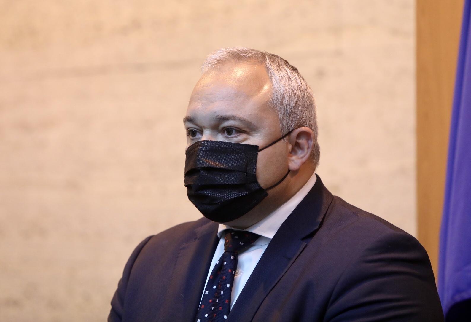<p>Служебният министър на правосъдието представи екипа си</p>
