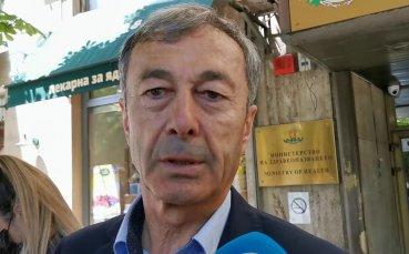 Пламен Марков: Благодаря на здравния министър за жеста, който направи