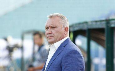 Киров: Много е важно да спечелим баража с Черно море