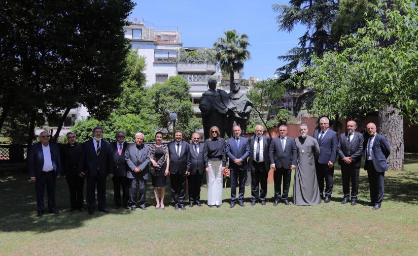 Румен Радев и българската делегация бяха приети на аудиенция от