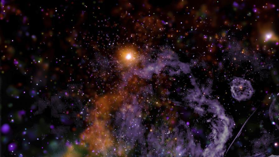 НАСА показа уникална снимка от сърцето на Млечния път