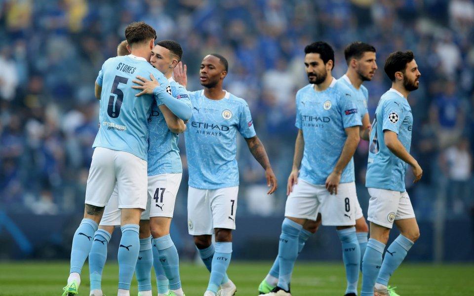 Шампионът от Висшата лига Манчестър Сити доминира в отбора на