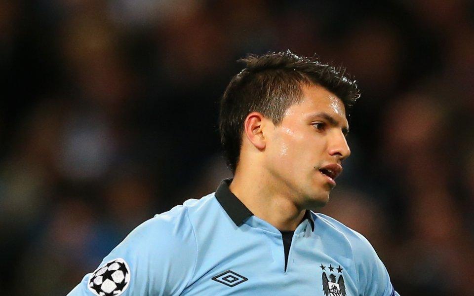 Барселона потвърди, че нападателят на Манчестър Сити Серхио Агуеро ще