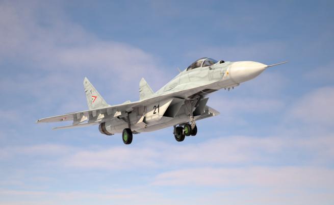 Откриха мястото на катастрофата на МиГ-29