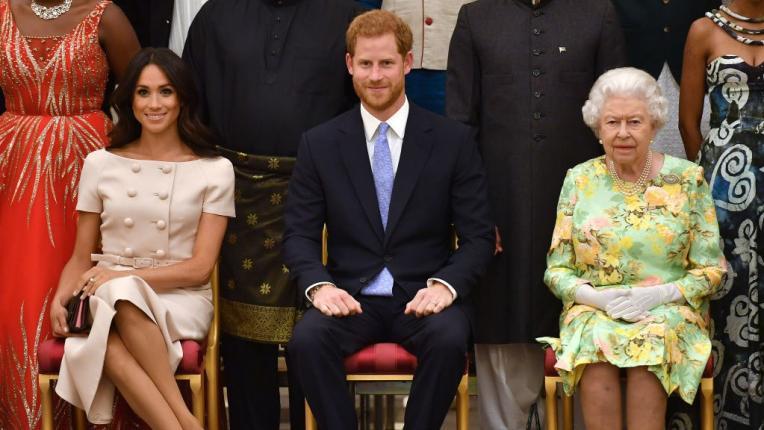 меган маркъл принц хари кралица елизабет втора