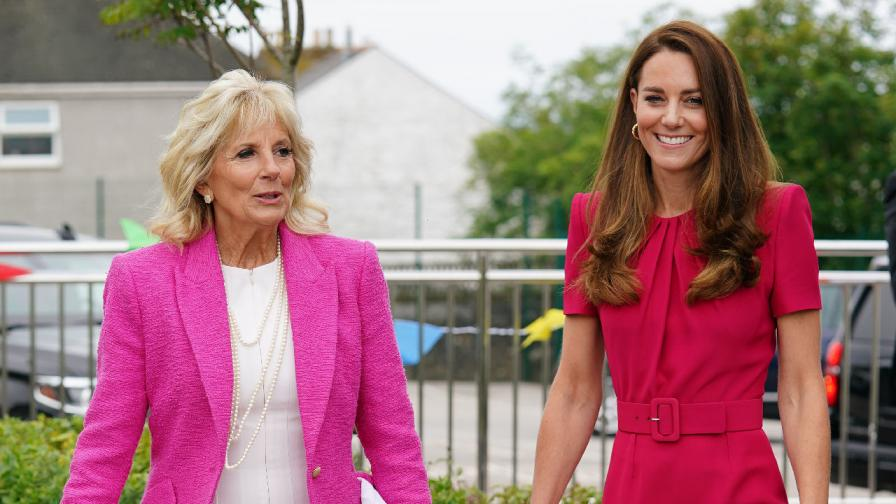 Херцогинята и първата дама: Кейт Мидълтън и...