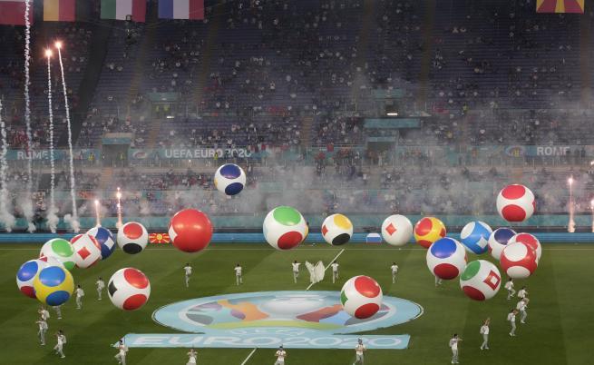 Откриха UEFA EURO 2020™ със зрелищен спектакъл в Рим