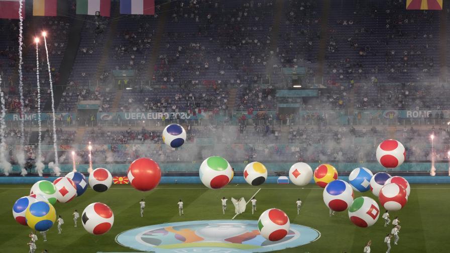 Откриха UEFA EURO 2020 със зрелищен...
