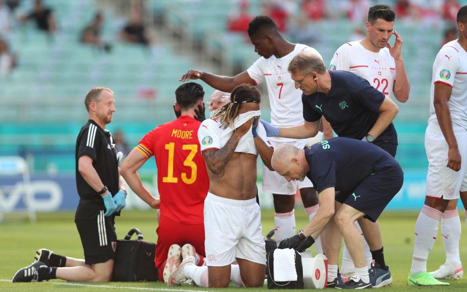 Съставите на Уелс и Швейцария играят при резултат