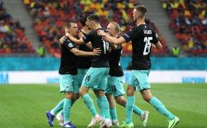 Австрия с историческа победа над Северна Македония на UEFA EURO 2020