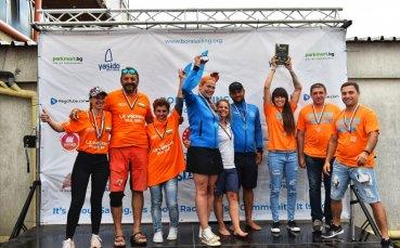 Отборът на ОВК Несебър 2000 грабна трофея в първия кръг на Шампионската лига по ветроходство