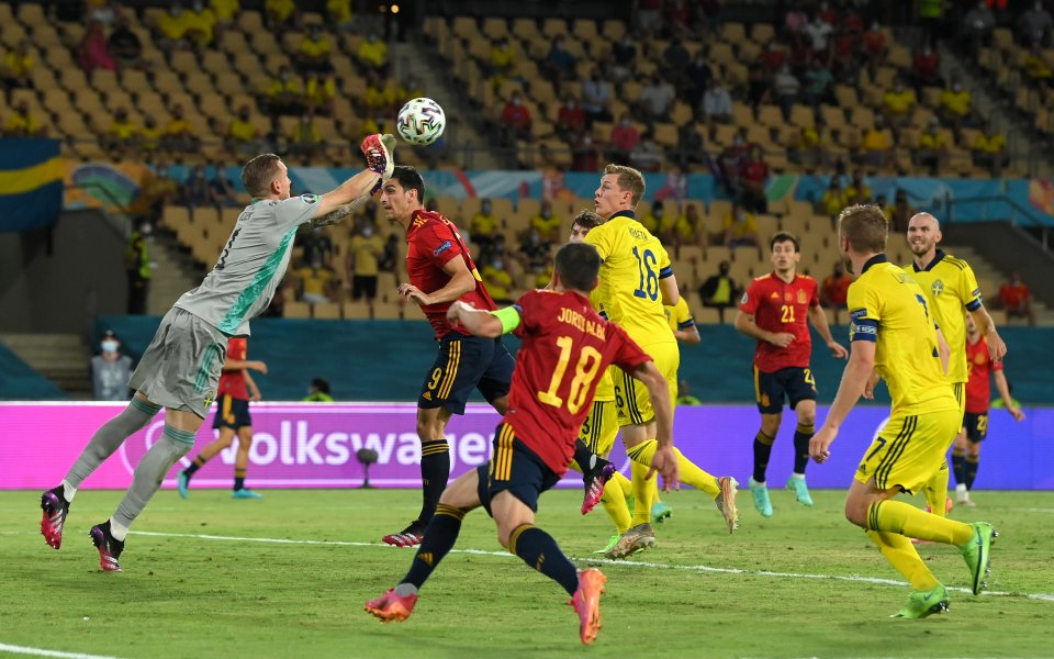 Испания и Швеция завършиха 0:0 вмач от група Е на