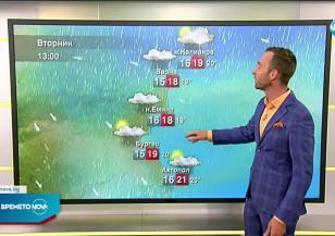 Прогноза за времето (15.06.2021 - сутрешна)