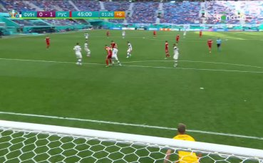 Финландия - Русия 0:1 /репортаж/