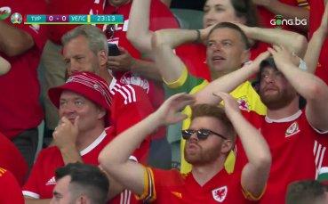 Турция - Уелс 0:1 /първо полувреме/