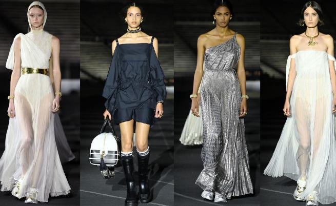 В духа на древногръцките традиции: Зрелищно шоу на Dior в Атина