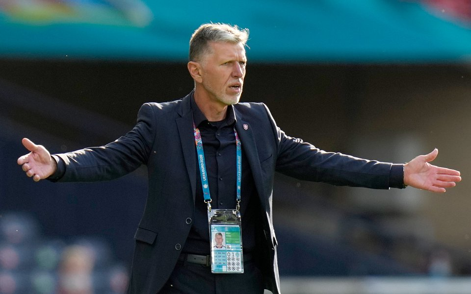 Селекционерът на националния отбор на Чехия Ярослав Шилхави заяви, че